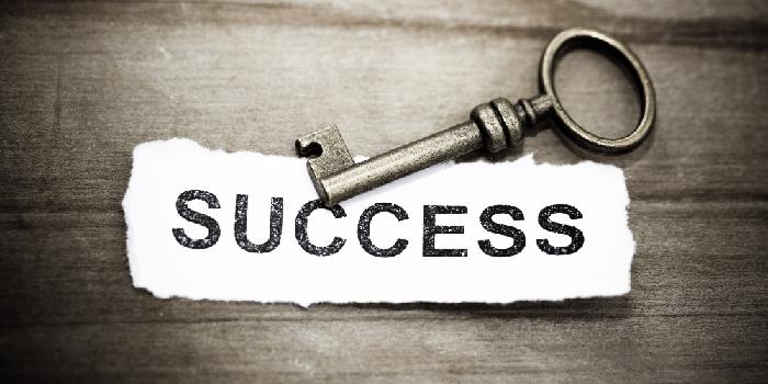 A chave para o sucesso nos negócios